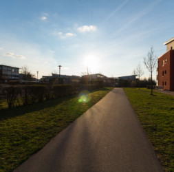 Sonne über der Hochschule Bonn-Rhein-Sieg