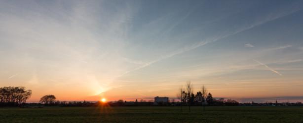 Felder hinter der Hochschule Bonn-Rhein-Sieg